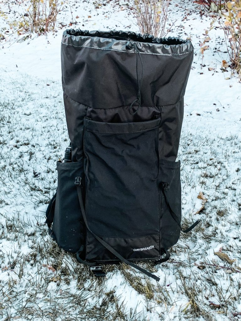 DayBreaker DayPack open Front View