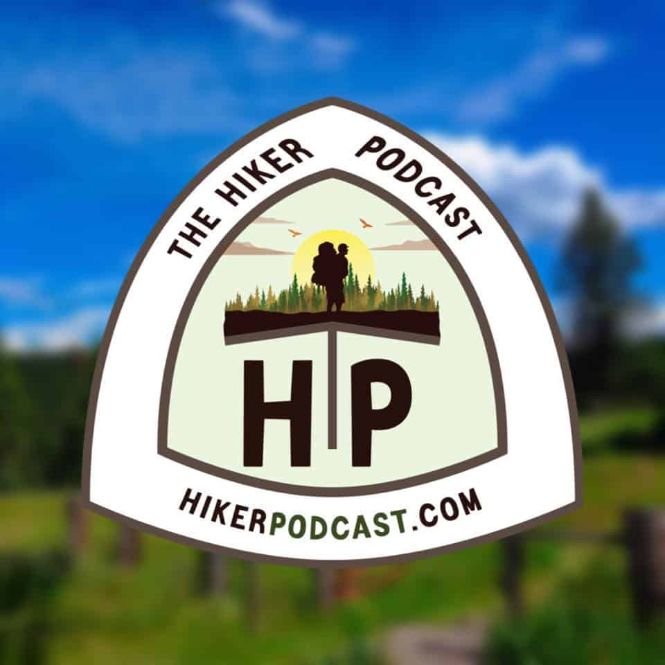 The Hiker Podcast logo